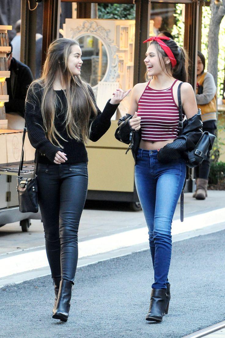 Paris Berelc and Amber Montana