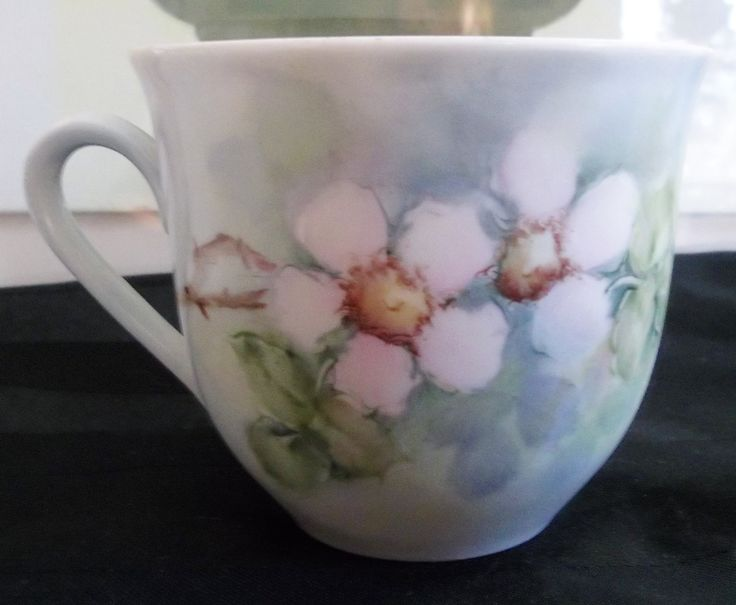 Bavaria Schumann Unique Wild Rose Demitasse Cup Arzberg Germany 1960-70 by HerbsforLivingLife on Etsy