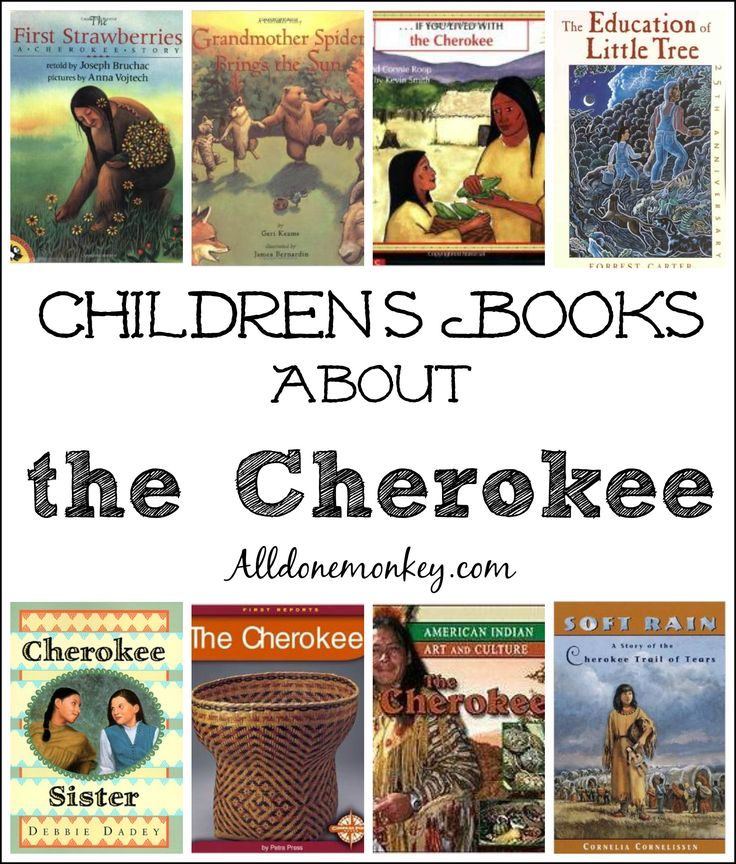 Children's Books About the Cherokee | Alldonemonkey.com @alldonemonkey