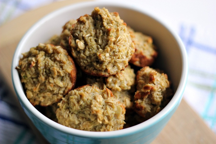 Oatmeal Zucchini and Apple muffins: Food, Oatmeal Zucchini Muffins, Apples, Zucchini Apple, Apple Muffins Perfect, Apple Zucchini Muffins