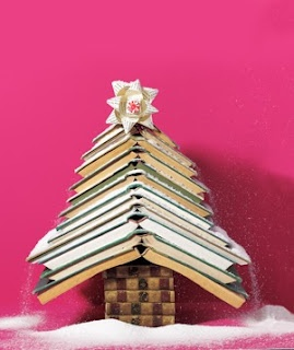 Cute tree, but only do this with books that have no value on any level!