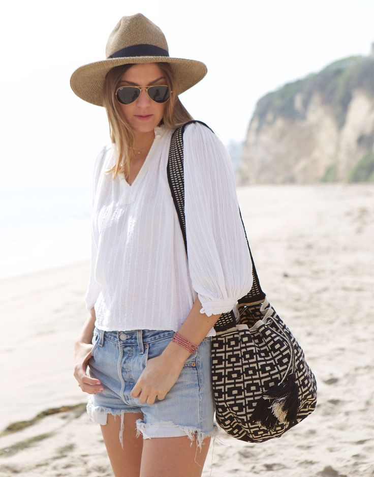 adorable festival or beach bag {from Lauren Conrad's fair trade shop The Little Market}