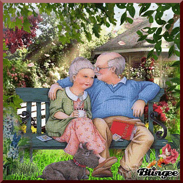 Смотреть прикольные картинки про бабушек и дедушек про любовь, грустные
