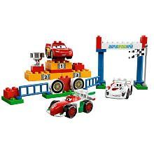 LEGO DUPLO Disney Cars Exclusive Limited Edition Set #5839 World Grand Prix by LEGO. $45.99. bWin the World Grand Prix and be crowned as champion!/bThe World Grand Prix just ended with a finish almost too close to call! Who will be crowned champion Will Lightning McQueen take the crown or will one of his rivals take his place on top of the podium You decide!    * Features Lightning McQueen, Francesco and exclusive Indy race car    * Includes podium, silver cup and LEGO ...