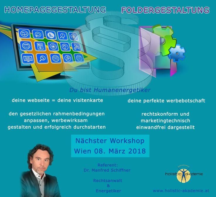Melde dich noch heute zu unserem Workshop in Wien, am Donnerstag, 08. März 2018, von 18.00 – 21.00 Uhr. Anmeldung per Mail: office@holistic-studies.at
