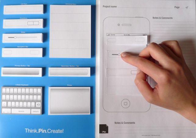 Usability Testing with paper prototype / Golem.de