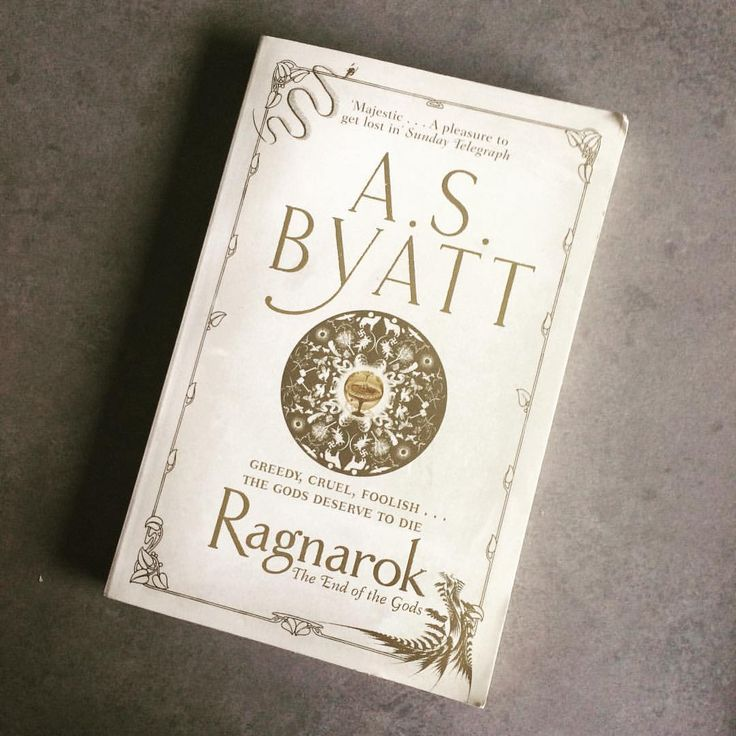 3/40: A book written by someone over 60: A. S. Byatt's Ragnarok. A sort of retelling of the myth of Ragnarok through the eyes of a child during World War II. I expected something a bit different - more of an interpretation, than the actual telling that happens here - but I ended up being okay with it.