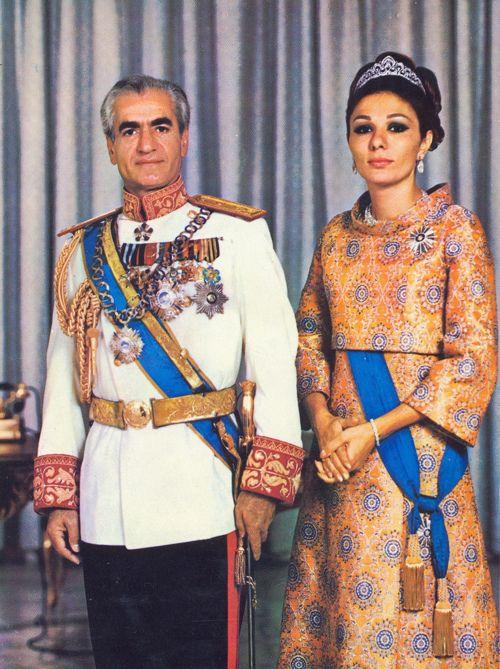 Mohammad Reza & Farah Pahlavi. | persia | Pinterest ...