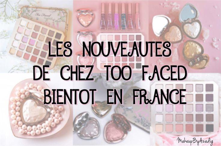 Les nouveautés de chez Too Faced seront bientôt disponibles chez Sephora France ! Il s'agit des highlighters coeurs et de la palette Natural Love !