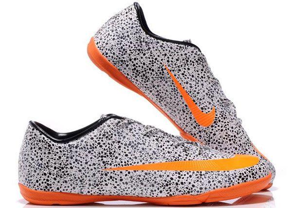 Nike Mercurial Vapor Superfly II IC Indoor Soccer Cleats Safar White