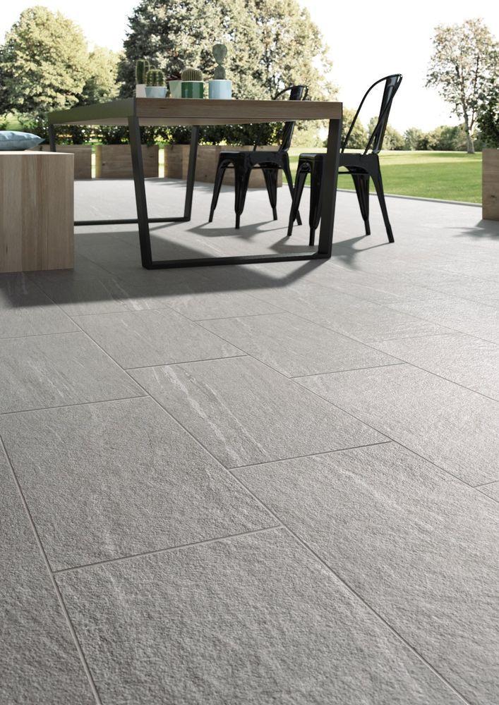 Details About Crete Anti Slip Porcelain Internal External Wall Floor Tile 10x10cm Sample Tile Floor Outdoor Tiles Outdoor Stone