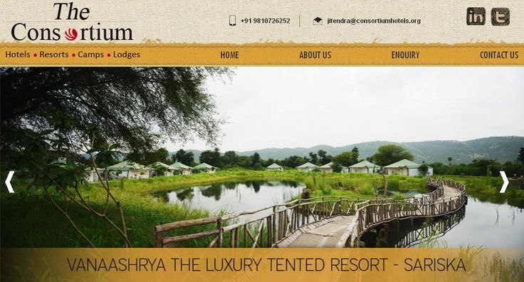 The Consortium #Hotels promote specially for #Palaces & #Havelis. http://www.theconsortiumhotels.com FSC India proudly presents to you the latest #website #designed by us.