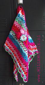 willewopsie: Omslagdoek in vrolijke kleurtjes