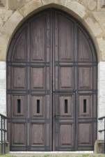 texture door double wooden castle medieval