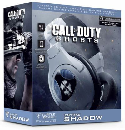 Turtle Beach PC/PS3/X360/PS4 Headset COD GHOSTS Ear Force Shadow - € 99.90