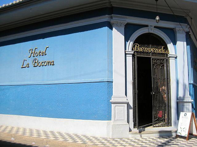 la-bocona-luxury-boutique-hotel-granada-nicaragua-entrance by marinakvillatoro, via Flickr
