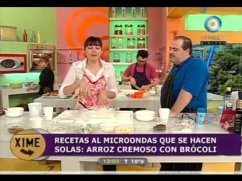 Distintas preparaciones de arroz en microondas