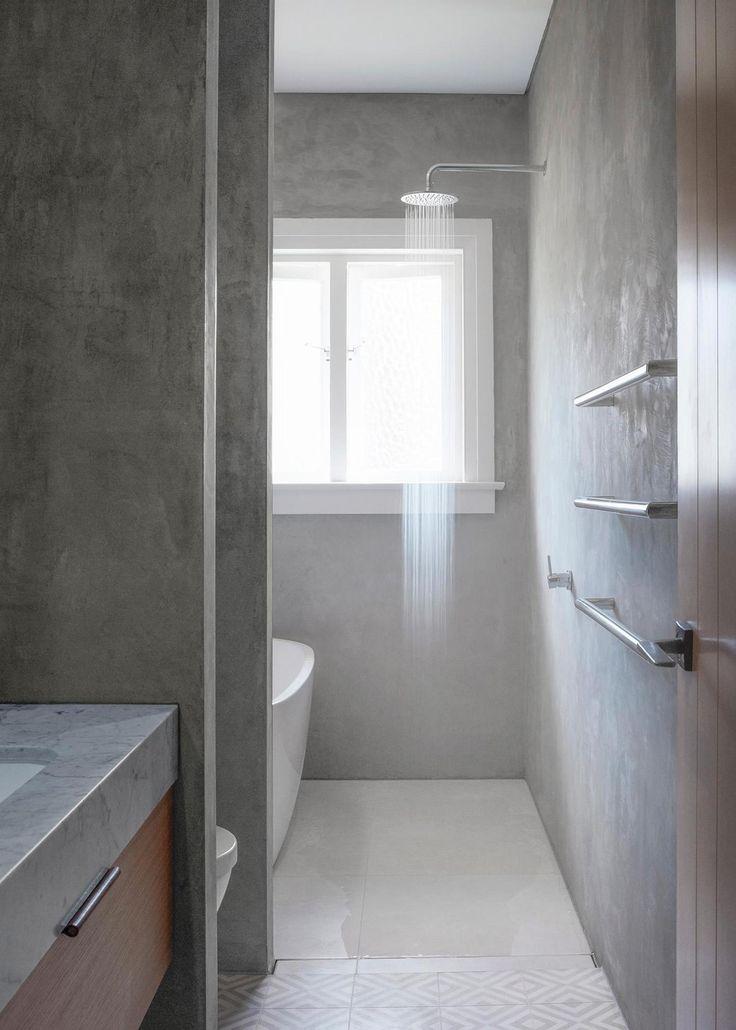 Daniel Boddam | Bondi Apartment | Est Living love the finish on the walls