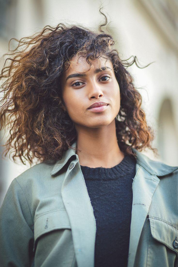 Imaan Hammam by Jean Baptiste Soulliat Isabel Marant - Paris Fashion Week PAP SS16                                                                                                                                                                                 Plus