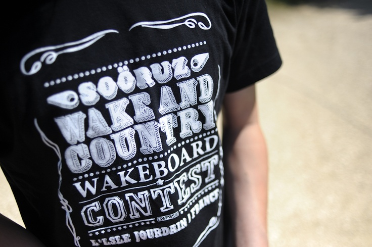 Tshirt of the event - Soöruz Wake and Country 2012