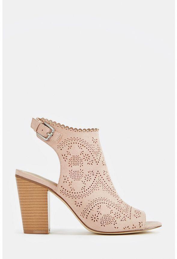 4d029c93d1f81 JustFab Berenice Heeled Sandal Womens Pink Size 12 #SandalsHeels ...