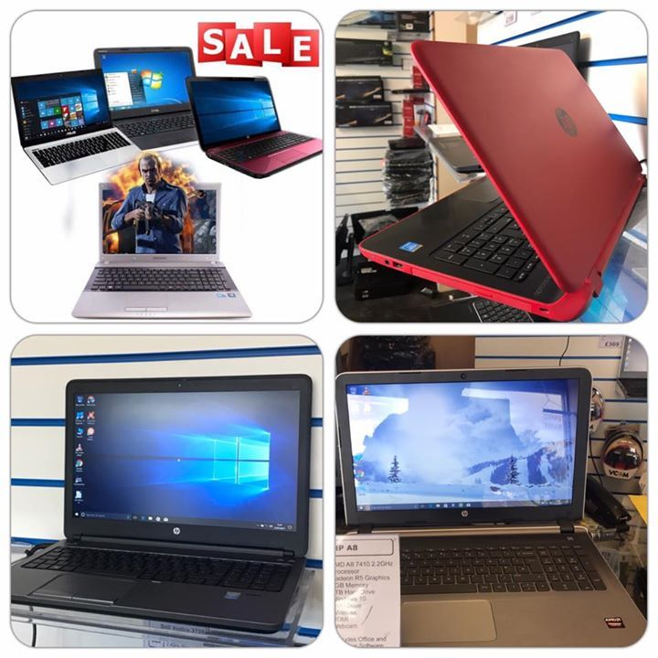 SHOP Laptop SALE : Up to Half Price Laptops , From £99 - £299   Example 1: £99 Dual Core laptops home/ office / student laptops with office antivirus in large and small sizes.  Example 2: Fast quad core i3 and i5 Laptops from only £149 ideal for video editing, photoshop, DJing graphics etc  Example 3: 8GB  i5 full size laptops from £199 ideal for most tasks and some gaming like Minecraft, SIMS, Warcraft Football manger etc.  Example 4: 8GB i5 i7 and high end beats audio HP and Dell Laptops…