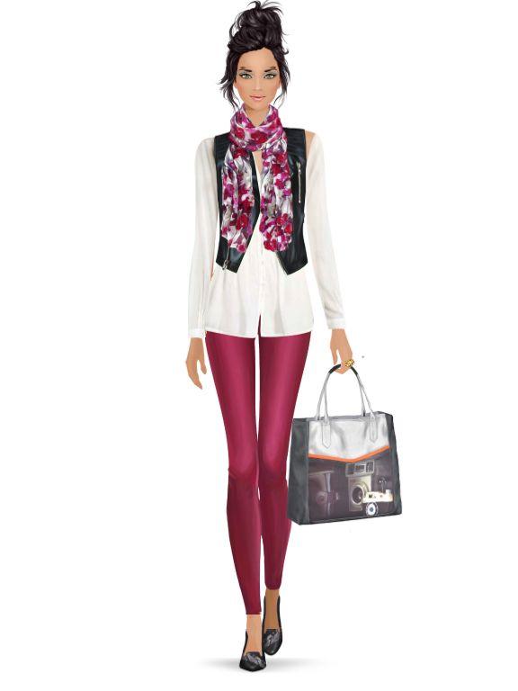 Fashion Game Fashionista Och Pinuppor Och Lady Figurine