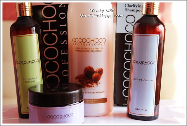Coco Choco Бразильское кератиновое выпрямление и восстановление волос: Мой опыт