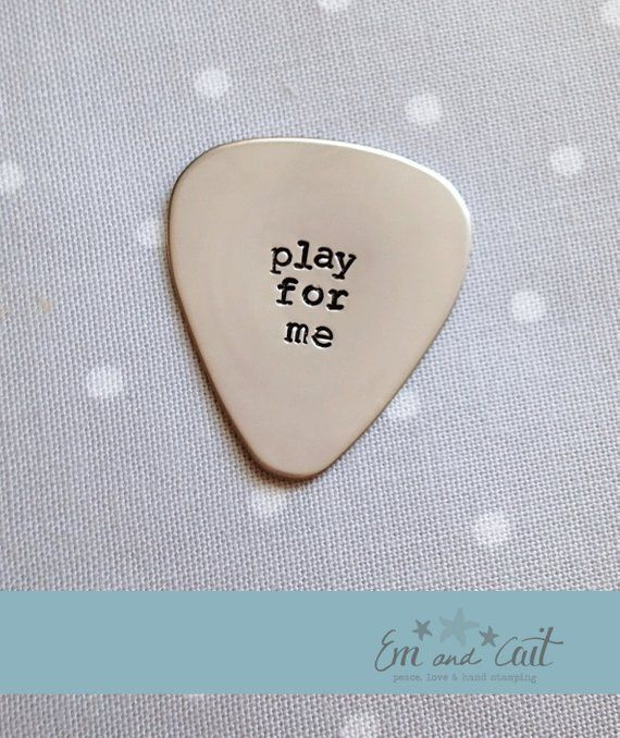 Guitar Pick, Play For Me, Gift for Him, Present for Boyfriend, Anniversary Gift – #Anniversary #boyfriend #gift #Guitar #Pick #Play #present