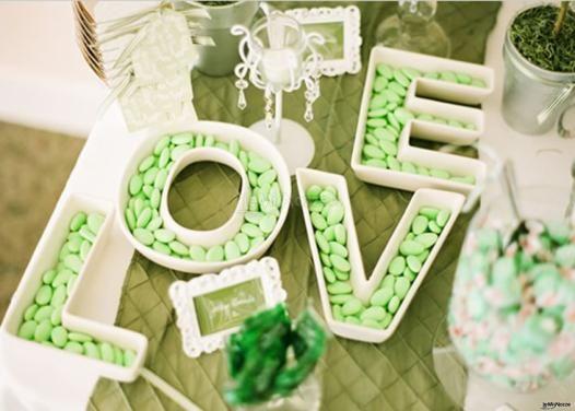 Una confettata orginale ... e verde!