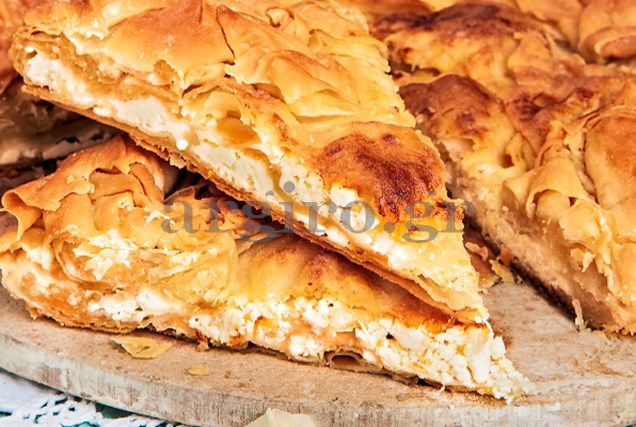 Cheese pitta from Metsovo - Αρχοντική τυρόπιτα Μετσόβου
