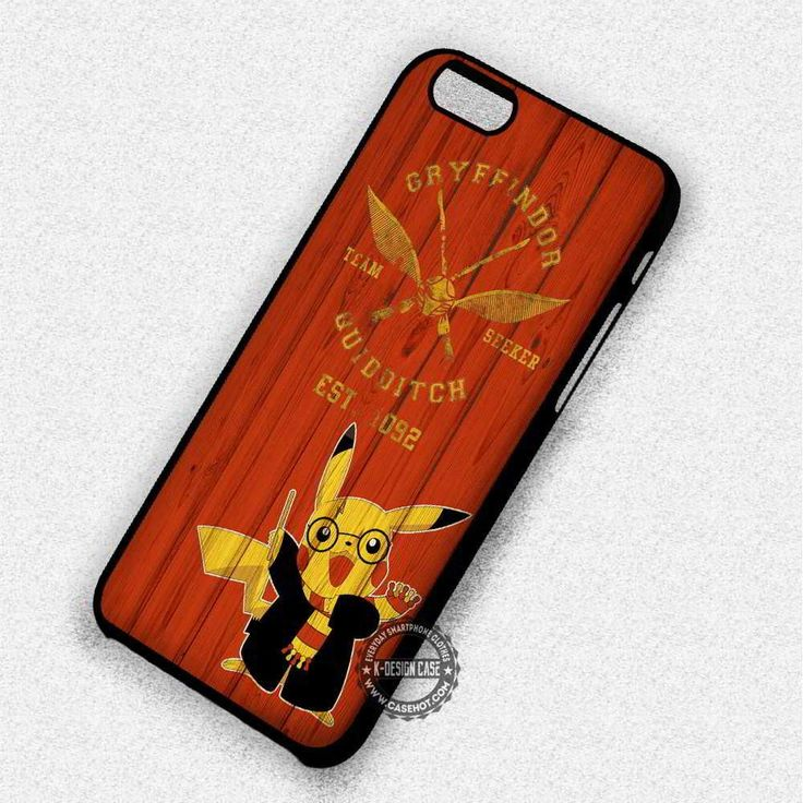 Pikachu Harry Potter - iPhone 7 6 Plus 5c 5s SE Cases & Covers