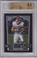 Adrian Peterson Topps 2007 Red Hot Rookies Graded 9 | eBay