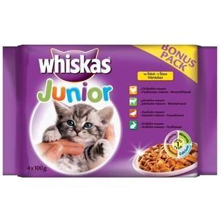 Whiskas Yavru Seçenekler Kedi Konserve Maması