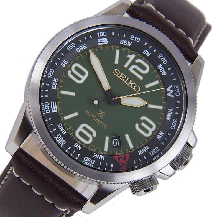 A-Watches.com - Seiko Automatic Prospex Power Reverse Brown Leather Band Male Military Watch SRPA77K1 SRPA77, $247.00 (https://www.a-watches.com/seiko-automatic-prospex-power-reverse-brown-leather-band-male-military-watch-srpa77k1-srpa77/)