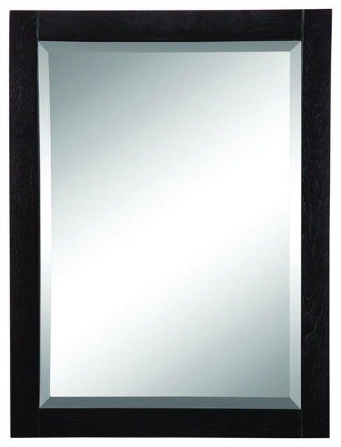 Mirror over vanity
