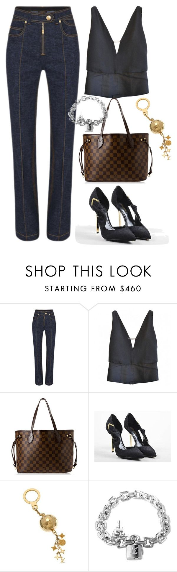 """Louis Vuiiton"" by silverboybeth on Polyvore featuring Louis Vuitton"