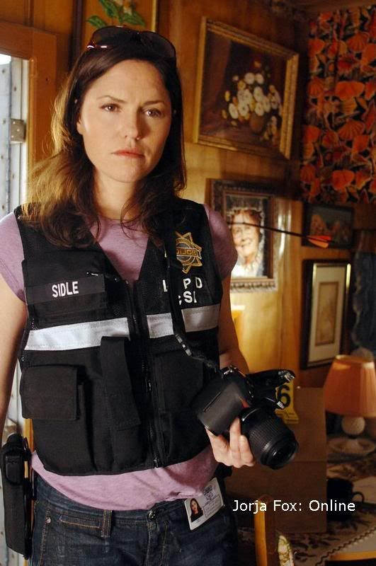 Jorja Fox alias Sara Sidle (CSI: Crime Scene Investigation)