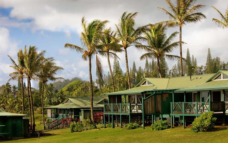 Travaasa Hana Sea Ranch Cottages.  I'm going one day.