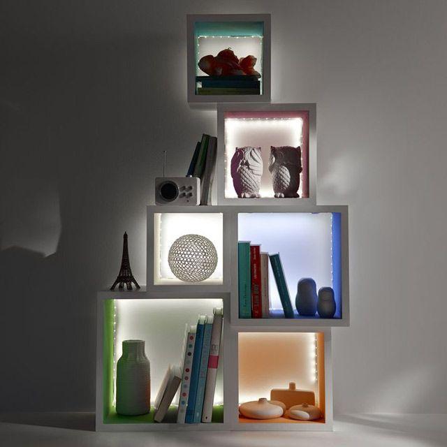 Ruban LED Blanc 1,5M 0,08W DIALL - CASTORAMA