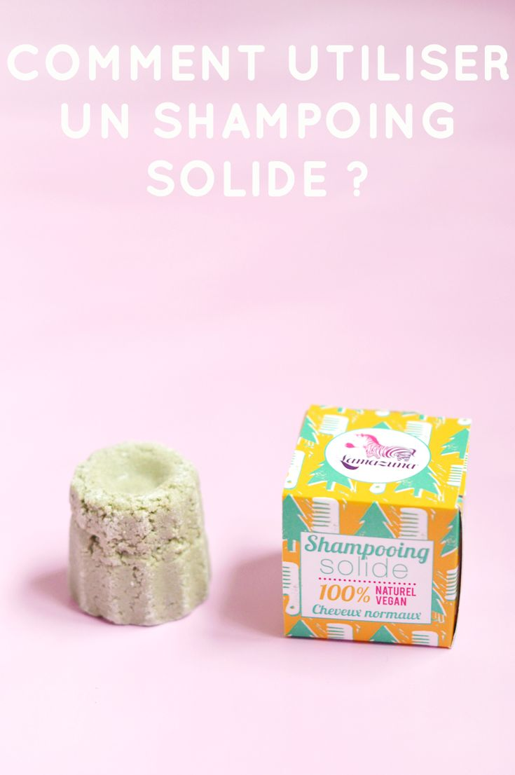 Comment utiliser un shampoing solide ? Sweet & Sour | Healthy & Happy Living | http://www.sweetandsour.fr // cosmétiques solides @lamazuna