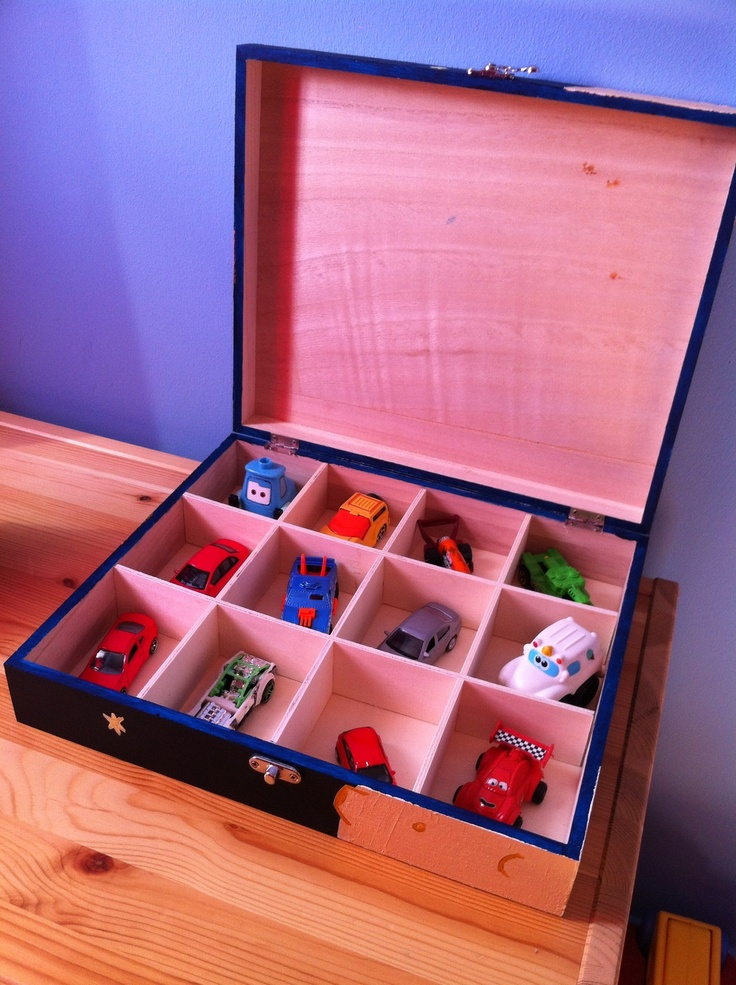 Perfect storage for all his cars with this keepsake box.