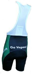 OrganicAthlete Go Vegan Cycling Bib Shorts