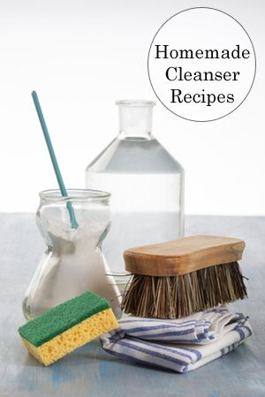 Frugal, creative housewives have been conjuring up cleaning solutions ...