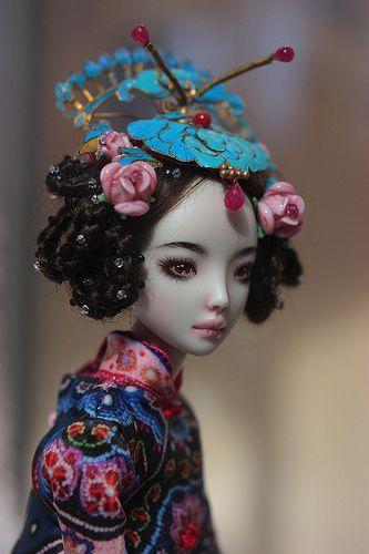 """✯ ★❤️^__^❤️★ ✯ """"ECHO"""" Doll*icious Beauty--ENCHANTED DOLLS by Marina Bychkova ✯ ★❤️^__^❤️★ ✯"""