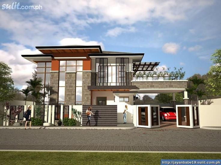 Modern architecture house design philippines modern house for Modern architecture house design philippines