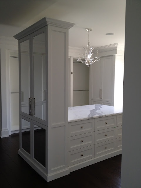 Master Closet - Search For White Elegance To See The Rest of Post