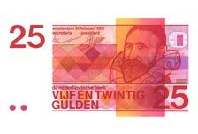 vijf en twintig gulden