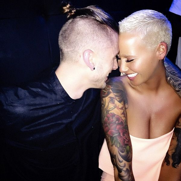 Amber Rose Gets Cozy With Machine Gun Kelly, Talks to Larry King About Her Love Life?See Photos and Videos!