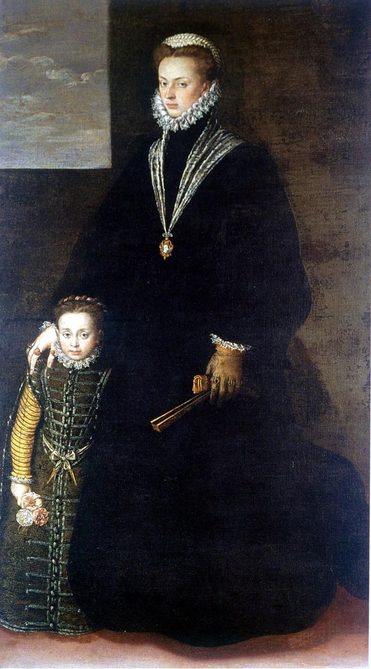 Joana D'Áustria, infanta de Espanha e de Portugal e Dom Sebastião, rei de Portugal